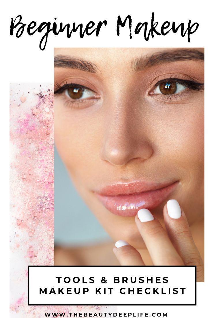Free Beginner Makeup Kit Checklist Beginner makeup kit