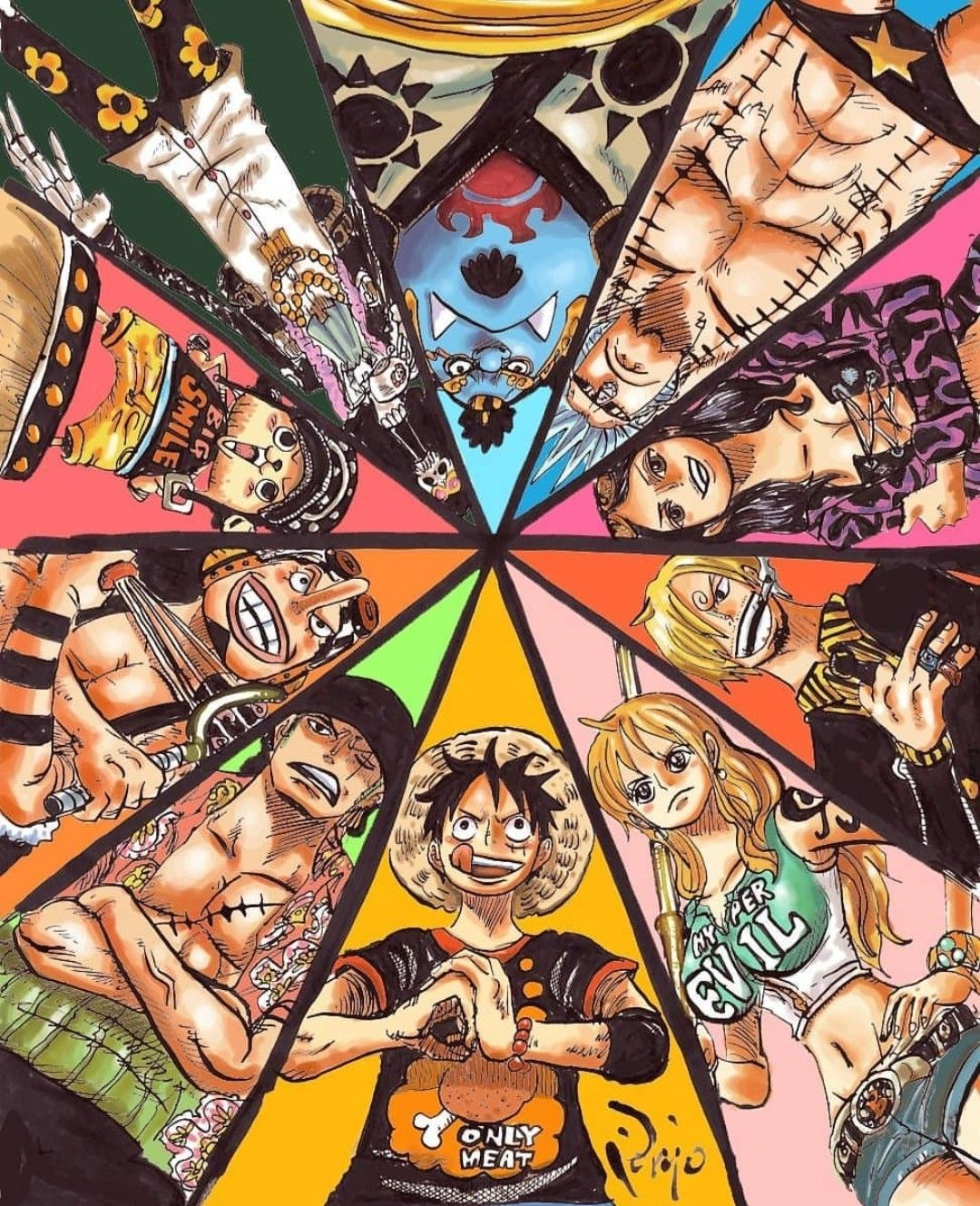 Mugiwaras One Piece Manga One Piece Pictures One Piece Anime