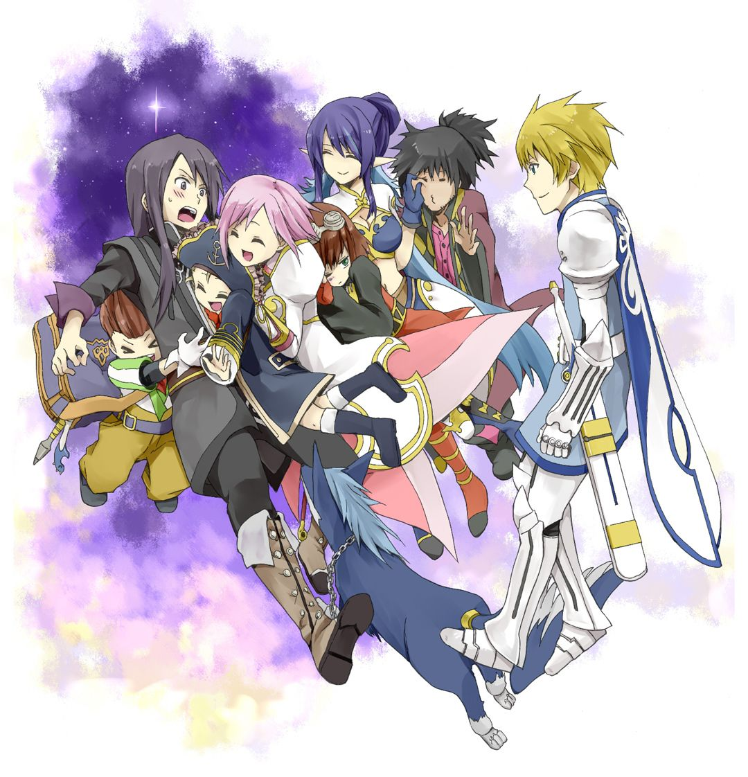Tales of Vesperia- Playable Characters