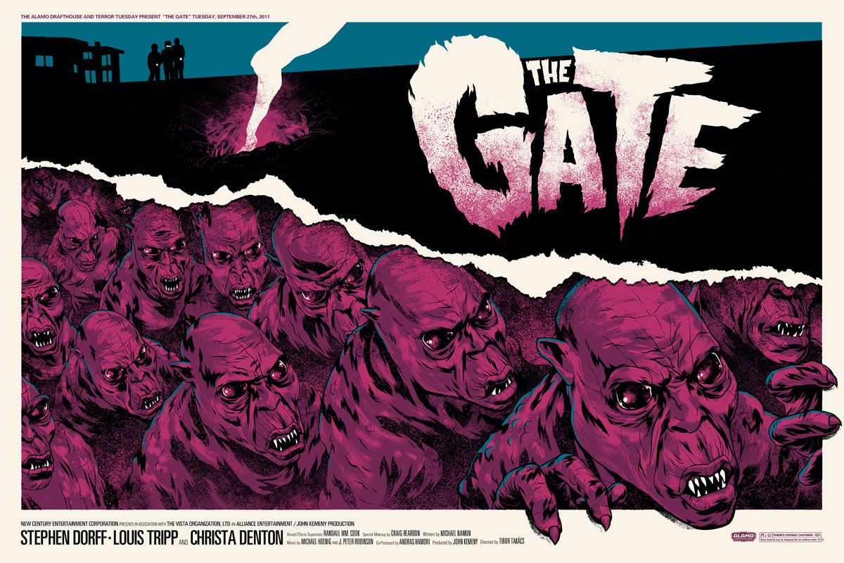 The Gate (1987) [1200 x 800], HQ Backgrounds Horror