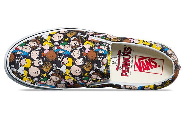 38e75e277d Vans x Peanuts  marca lança nova coleção-cápsula com ilustrações ...