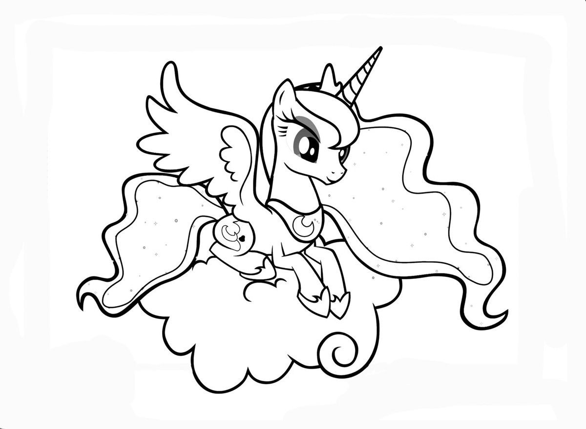 Pin By The Happy Little Oiler On Coloring My Little Pony Coloring My Little Pony Princess Pony Drawing
