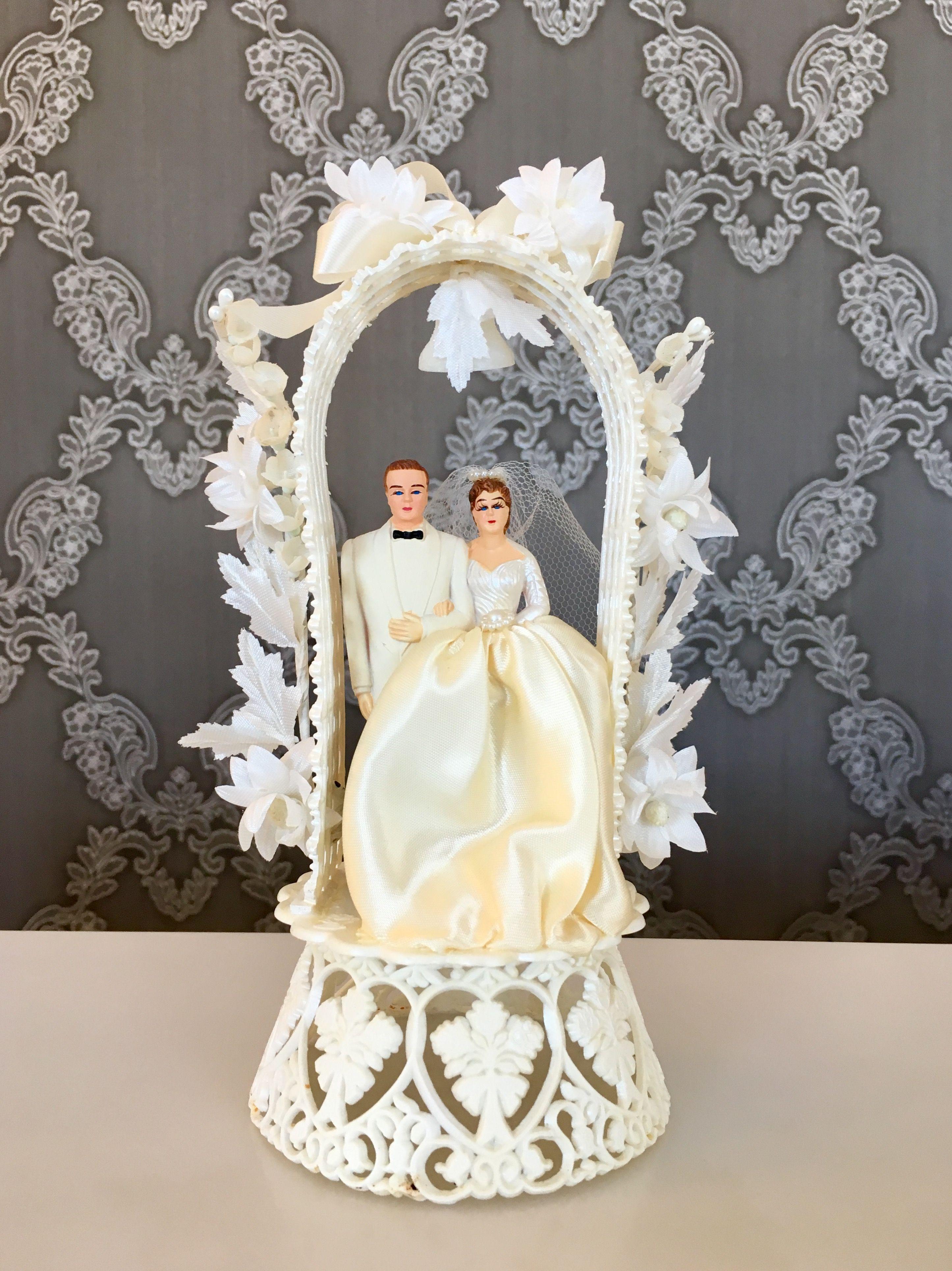 Coast Novelty 1959 cake topper. U.S.A. | Wedding Cake topper ...