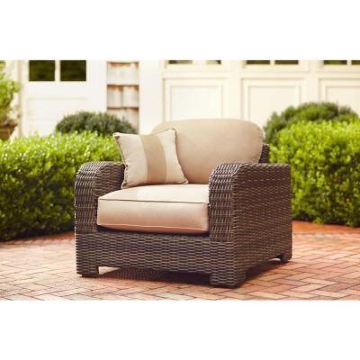 Beautiful Brown Jordan Northshore Patio Lounge Chair In Harvest