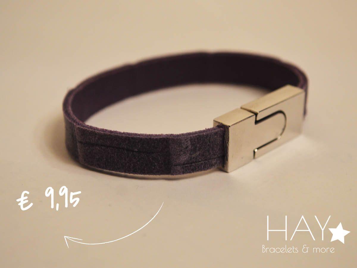 Subtiele armband | Paars