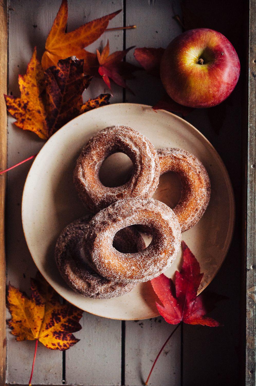 Apple Cider Doughnuts Food, Apple cider donuts, Caramel