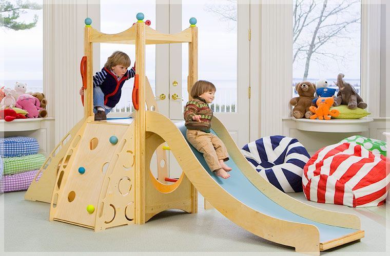Rhapsody 3 Cedarworks Rhapsody Indoor Climber Indoor Slide Playroom Indoor Playset Kids Playroom Decor Indoor Slides