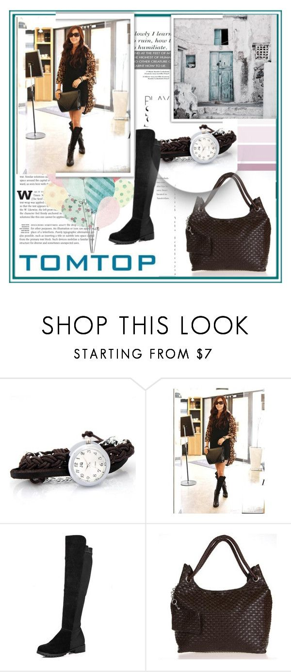 """TOMTOP+ 16"" by damira-dlxv ❤ liked on Polyvore featuring vintage"