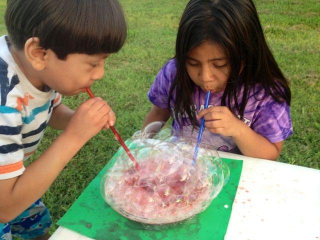 SUPER MAMÁ LATINA: A jugar con Burbujas de Colores (Receta)