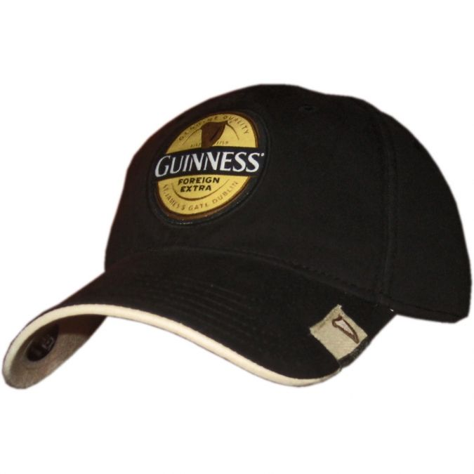 74562cc9a This stylish fitted Guinness cap reflects the colors of the famous ...