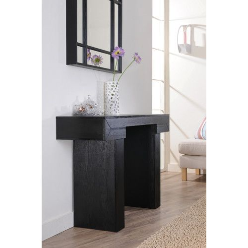 Hokku Designs Aveline Modern Console Table $241.87 Overall Height   Top To  Bottom: 30.6 Inches Overall Width   Side To Side: 47.2 Inches Overall U2026