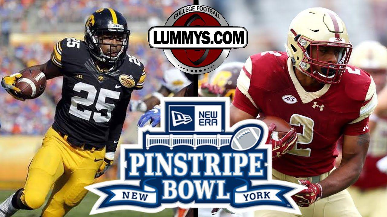 Pinstripe Bowl Iowa Vs Boston College Football In Yankees