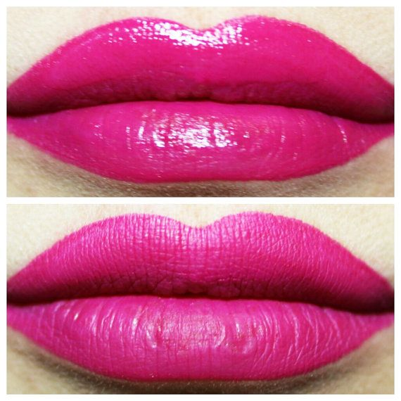 Electric Orchid Matte Liquid Lipstick Hot Pink Lipstick Bright
