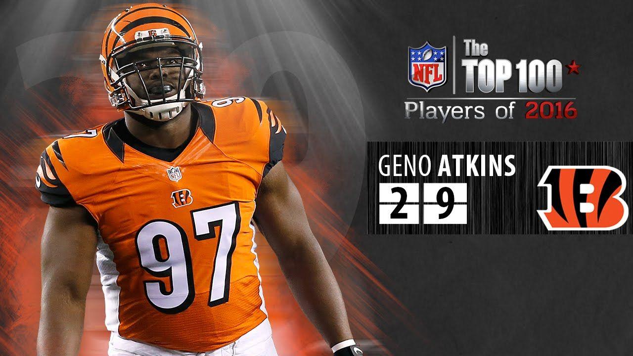 #29: Geno Atkins: (DT, Bengals) | Top 100 NFL Players of ...