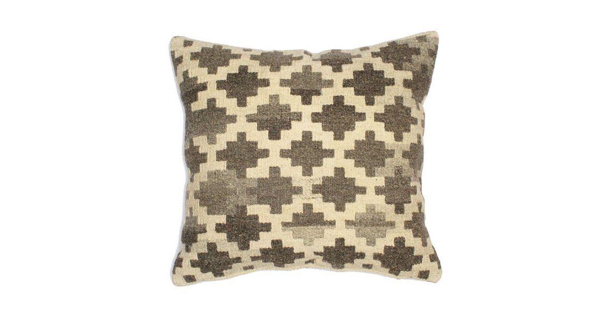 Geo 20x20 Wool-Blended Pillow, Multi