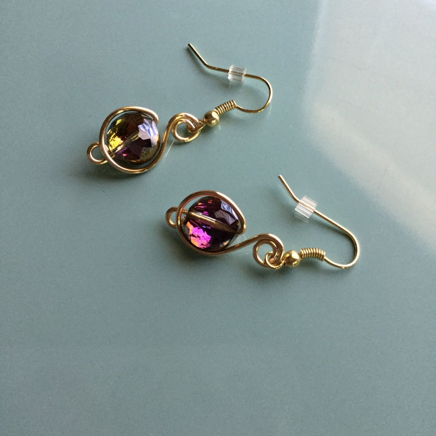 Sold Handmade One Of A Kind Dangle Earring Etsy Er Gold Jewelry Etsyer Womens