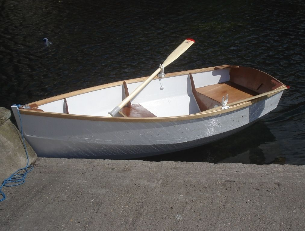Boat Building Plans for RYE BAY Rowing/Motor Dinghy picclick