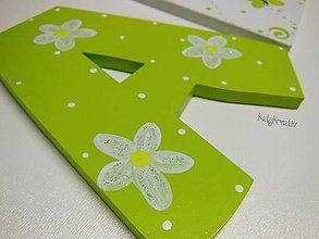 Tabuľky - 12cm písmená...ALICA..na želanie - 6622621_