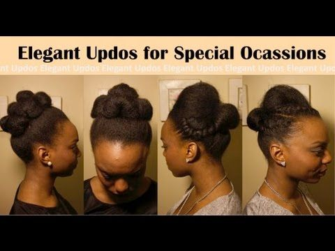 Simple Elegant Special Event Hairstyles For Natural Hair Natural Hair Styles Event Hairstyles Quick Natural Hair Styles