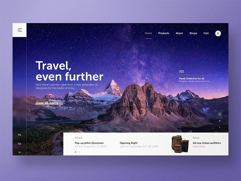 Traveler S Website Guide Shop Travel Website Design Web Design Inspiration Web Layout Design