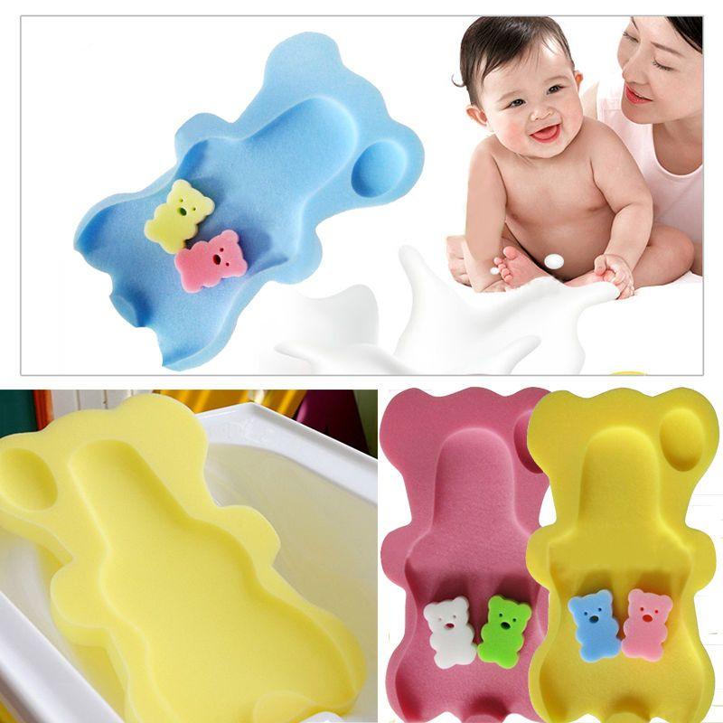 Safety Bath Sponge Support Aid Bathing Mat Foam Non Slip Cushion for ...