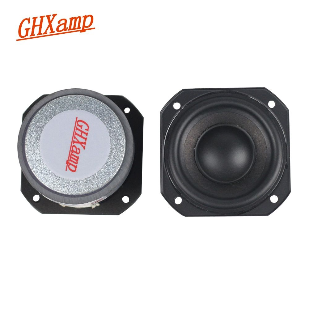 Ghxamp 2 Inch 10 20w Full Range Speaker 4ohm Portable Bluetooth Tweeter Mediant Bass Home Theatre For Peerless Speaker Di Diy Speakers Tweeter Portable Speaker