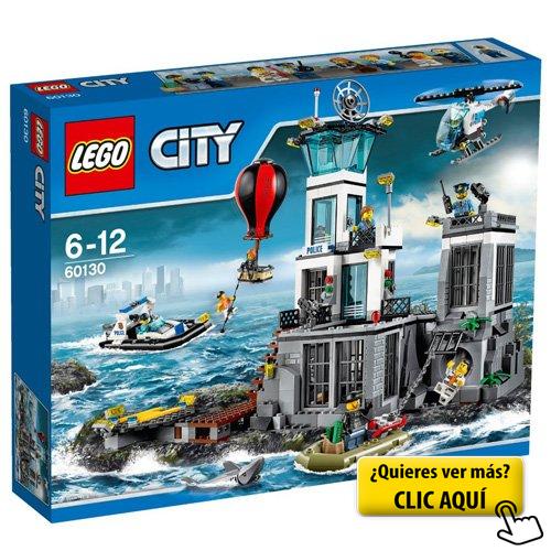Lego City Prisión De La Isla 60130 Lego Alta Mar Ciudad De Lego Lego