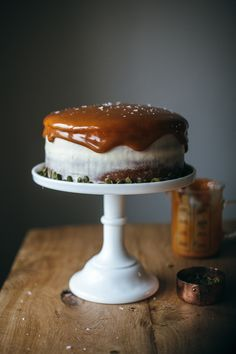 Pumpkin Layer Cake with Cream Cheese Frosting.