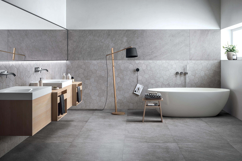 Badezimmer designs klein grecale acciaio mosaico  designer ceramic tiles from refin  all