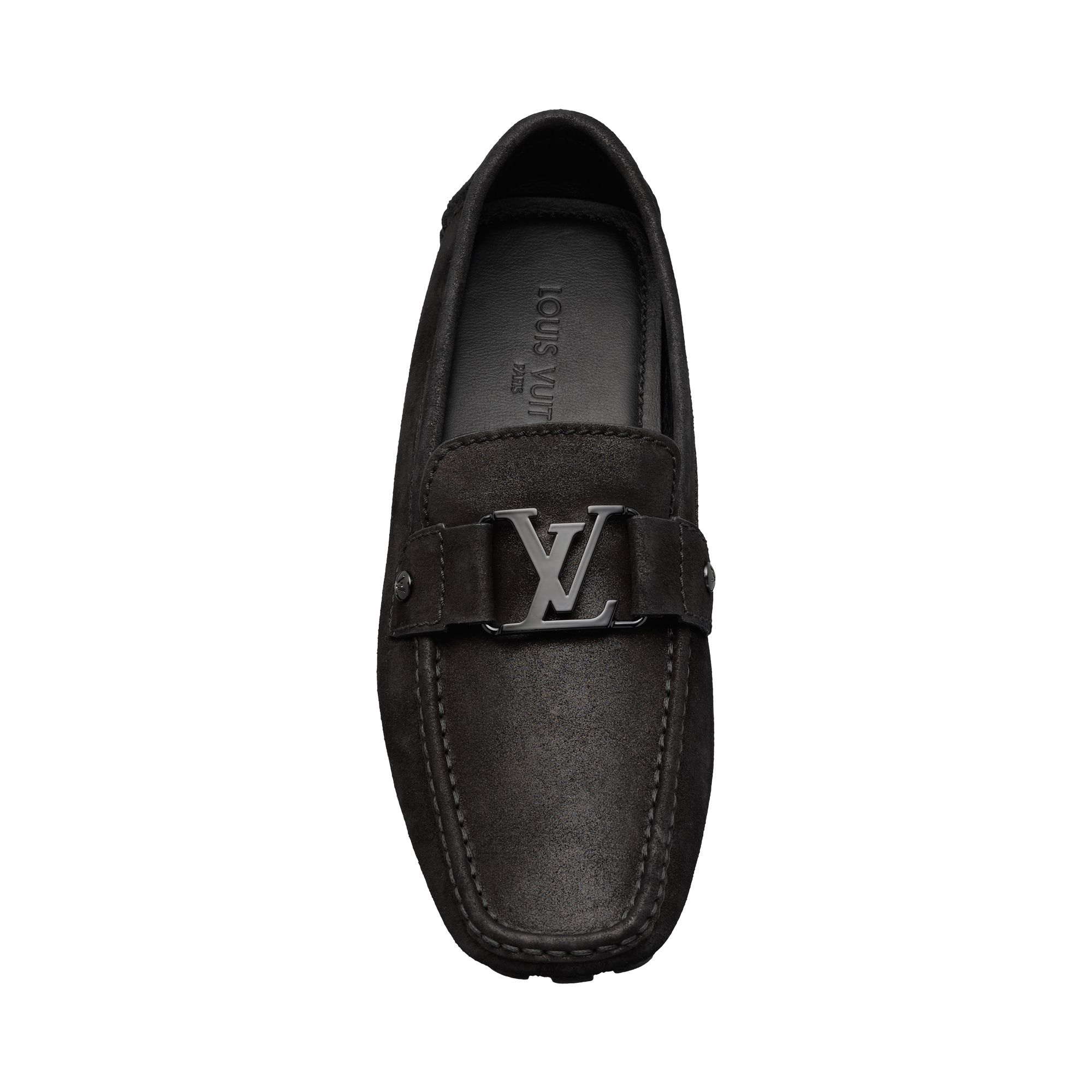 996320b2b146 Louis Vuitton Iridescent Suede Loafer (OWN)