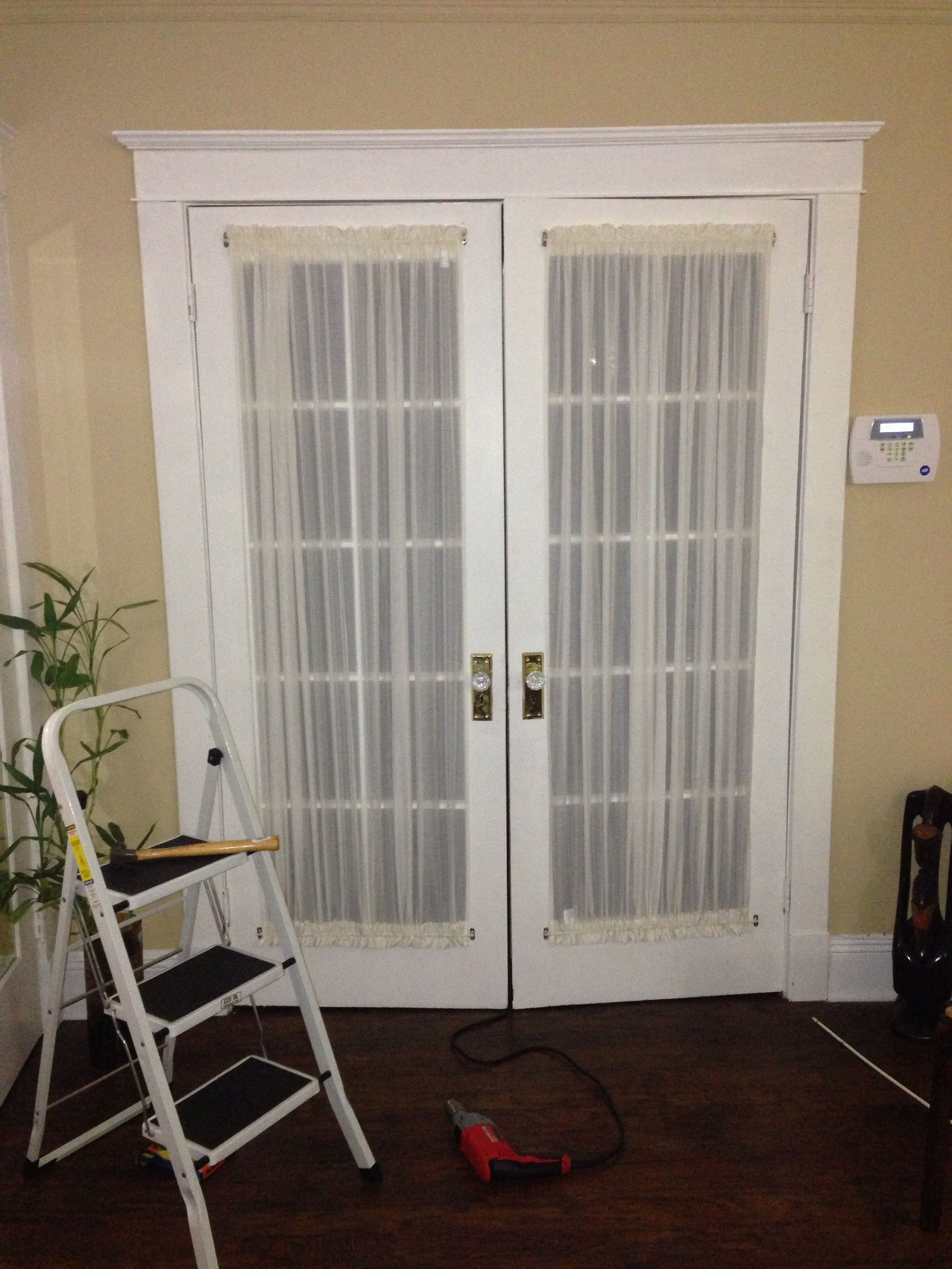 French Door Curtain Panels To Add Privacy French Door Curtain