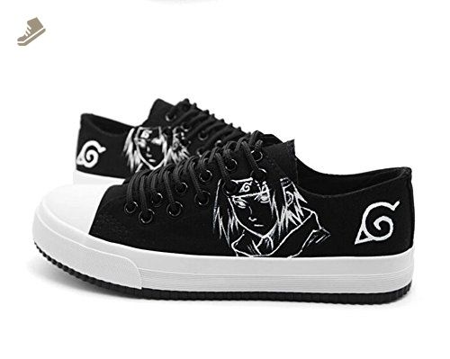 09d2e125eb5db Naruto Anime Uchiha Sasuke Cosplay Shoes Canvas Shoes Sneakers ...