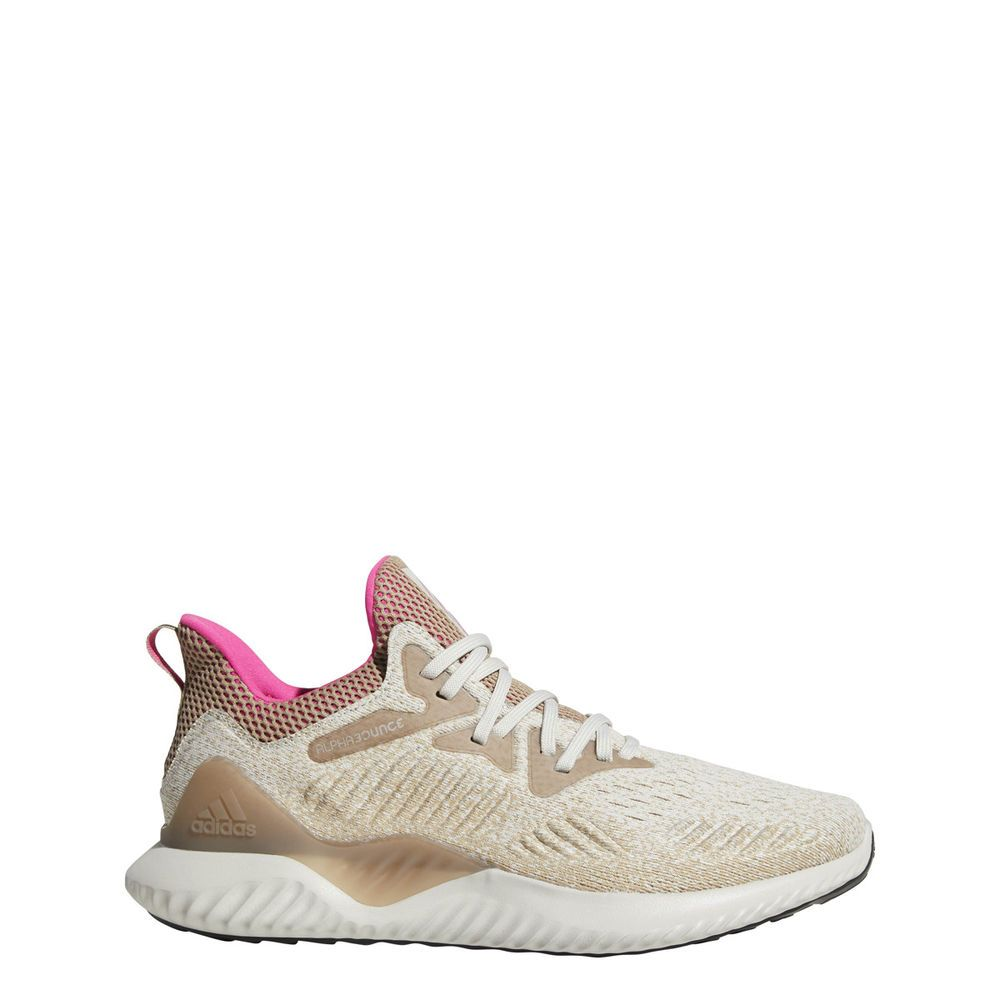 6c24c173b Adidas Men s Alphabounce Beyond Running Shoe Chalk Pearl Shock Pink Trace  Khaki  fashion  clothing  shoes  accessories  mensshoes  athleticshoes  (ebay link)