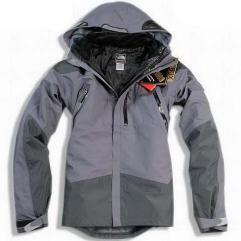 Mens The North Face Triclimate 3 In 1 Jacket Light Slate Gray