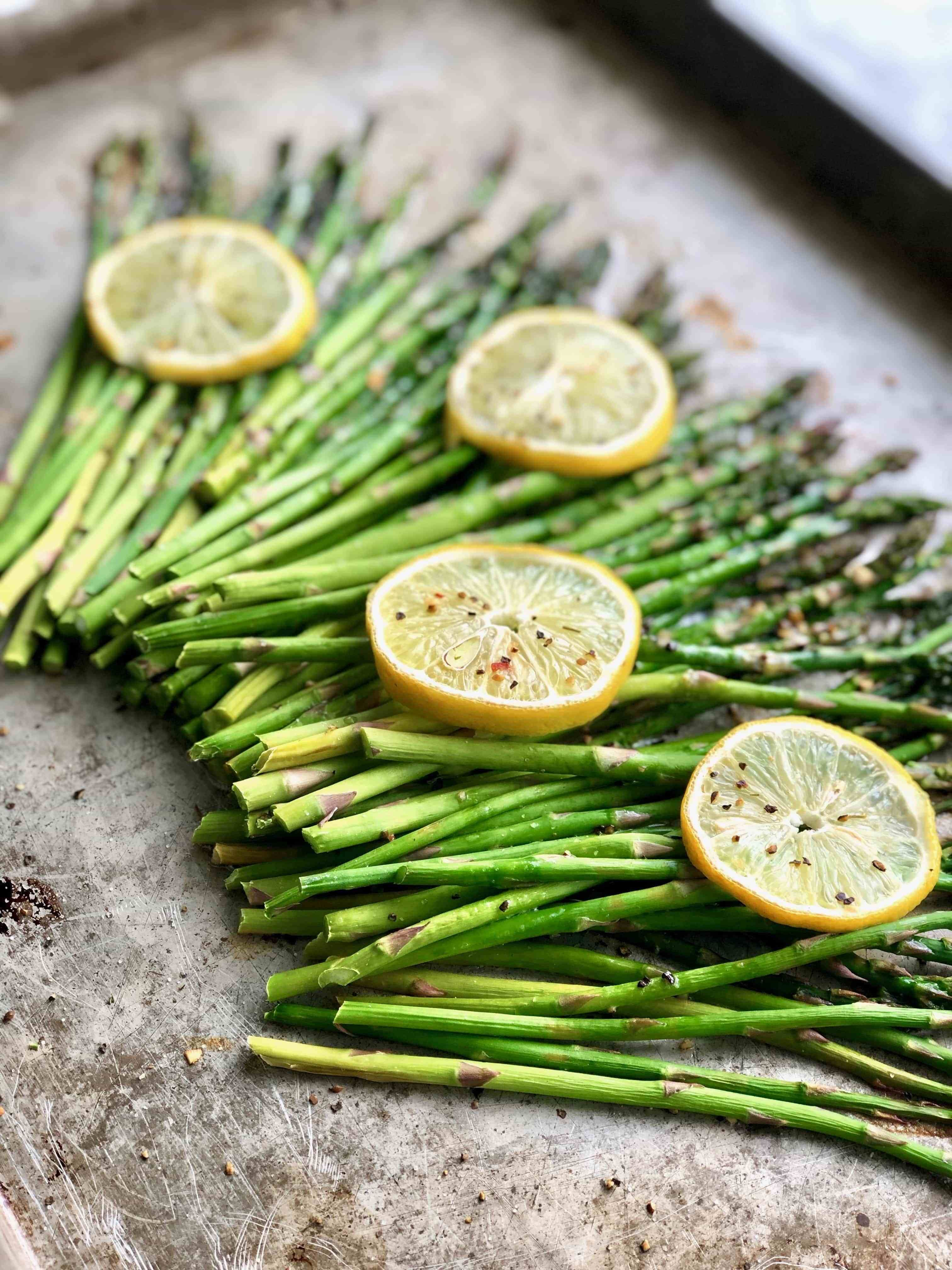 You wont mind eating your veggies when you try Lemon Butter Asparagus! |