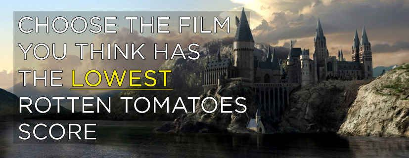 Which Harry Potter Film Got The Lowest Rotten Tomatoes Score Harry Potter Film Rotten Tomatoes Harry Potter