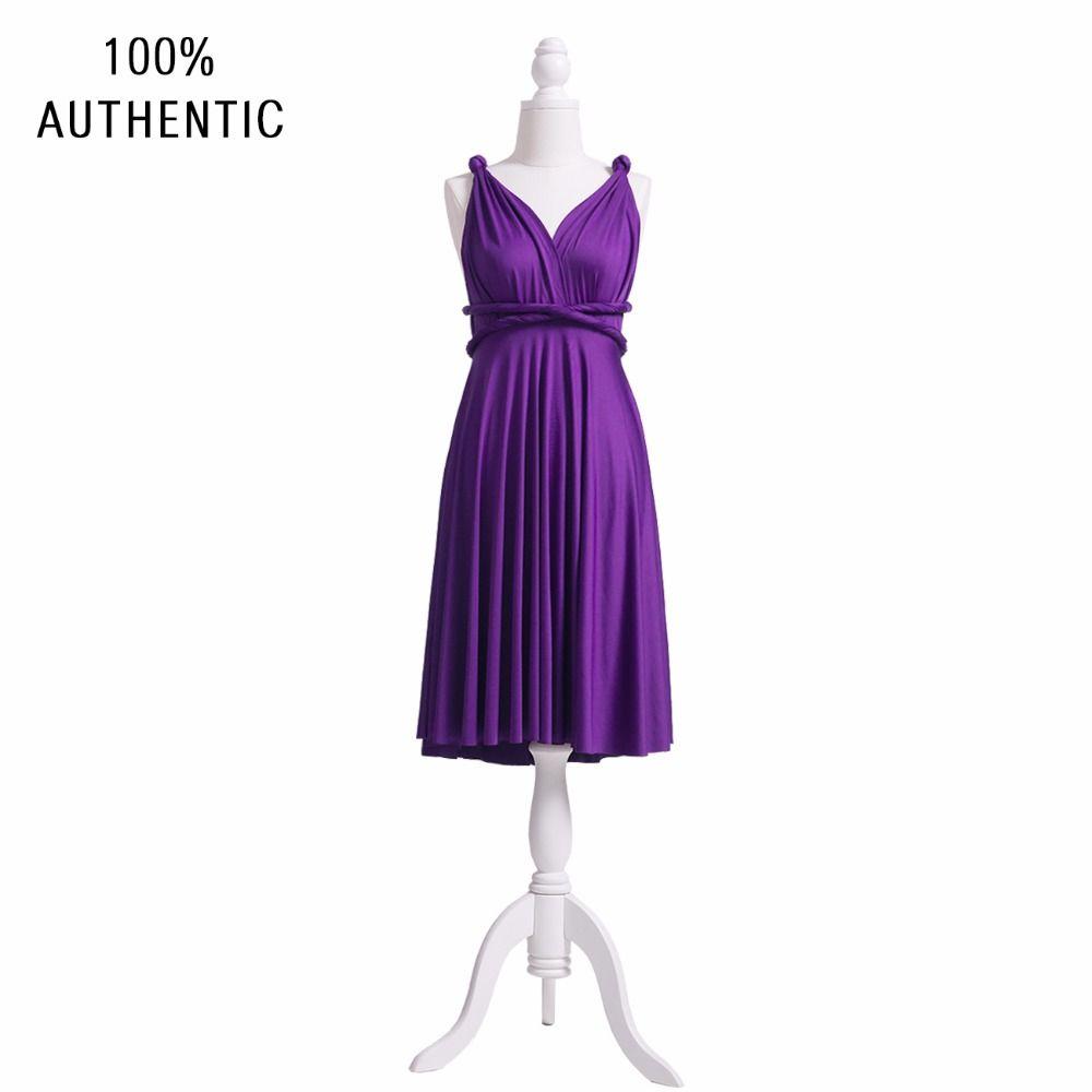 Purple Bridesmaid Dress Infinity Short Plus Size Maxi Convertible Dressmulti Way Dresstwist Wrap: Funny Purple Wedding Dress At Websimilar.org