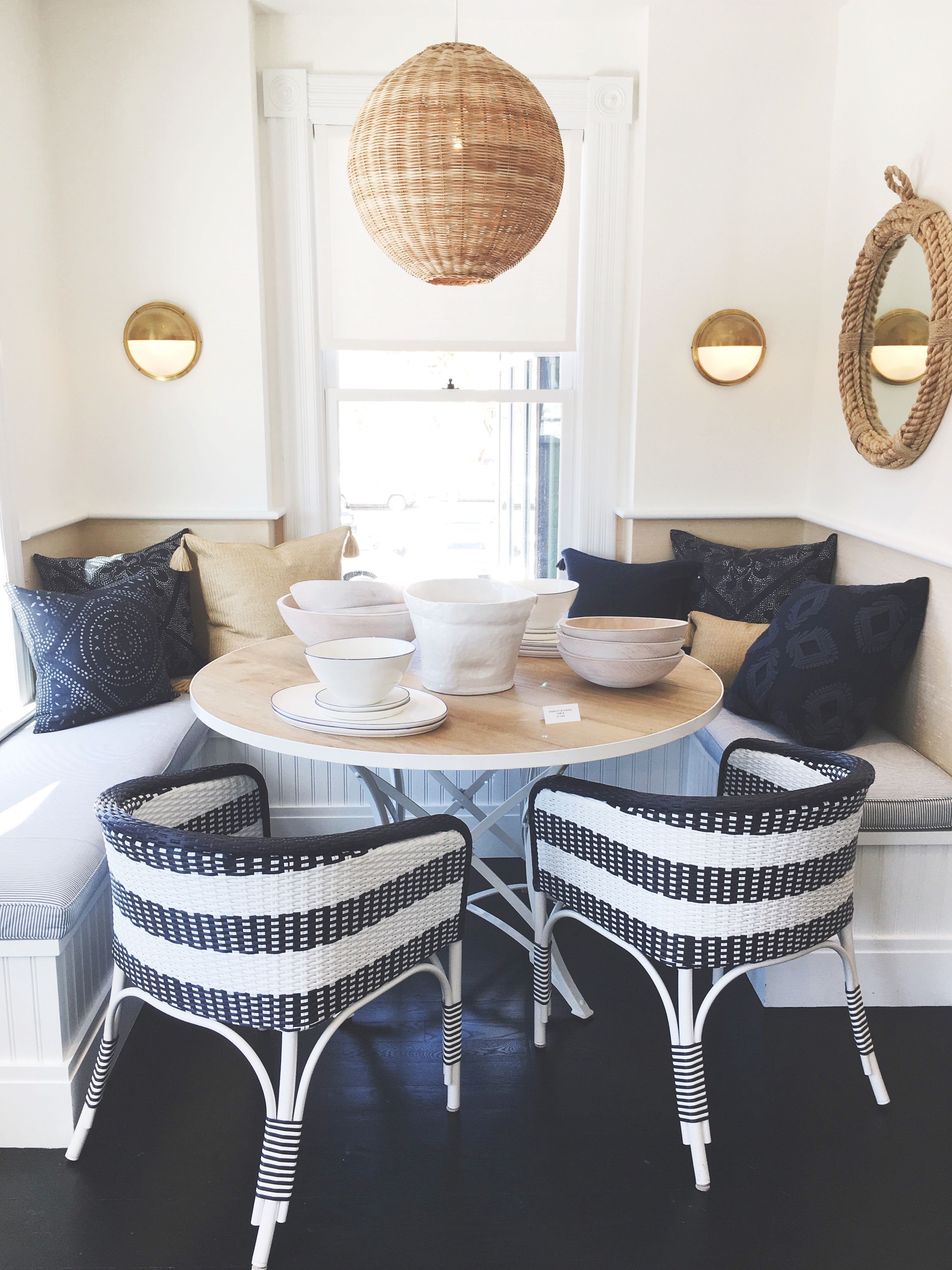 Dining Nook Inspiration Courtesy Of Serena Lily S Westport
