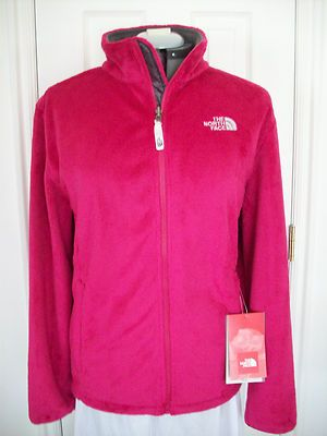 242f86412 New Womens North Face Osito Jacket Xl Parasol Pink Plush Fuzzy ...