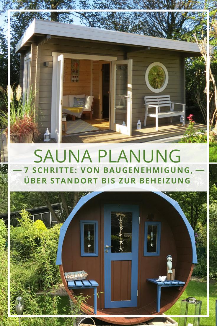 Die Sauna im Garten: Tipps und Tricks rund um die Planung zum ...