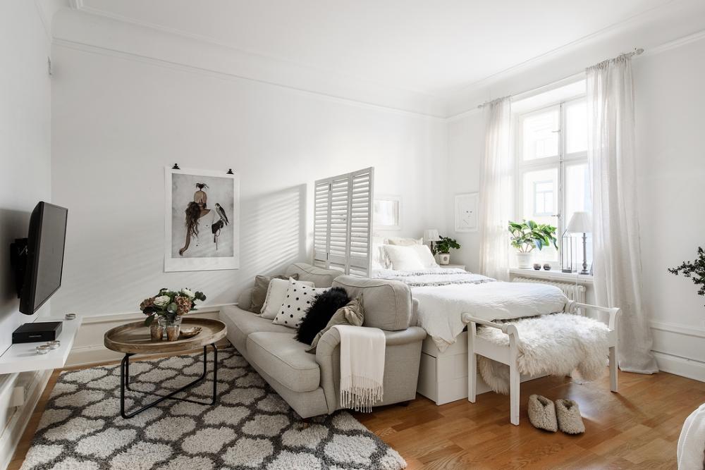 Photo of 33 idées pour mettre un lit dans son salon
