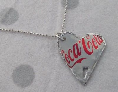 DIY Coke Can Necklace