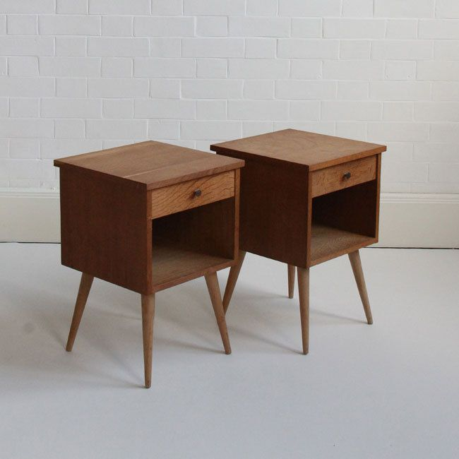 Unusual Bedside Cabinets mid-century bedside tables | tables | pinterest | mid century