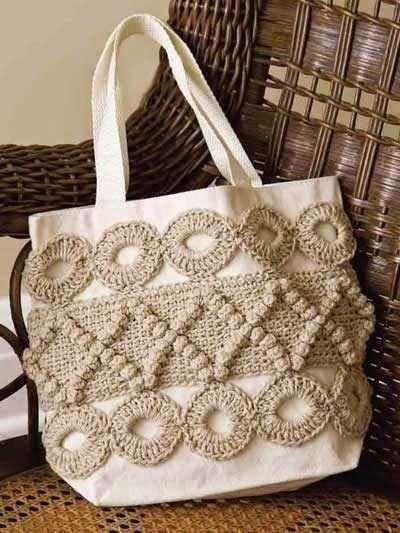 Santa Clara Artesanato: Bolsas com trico ou crochê | Crochet Bags ...