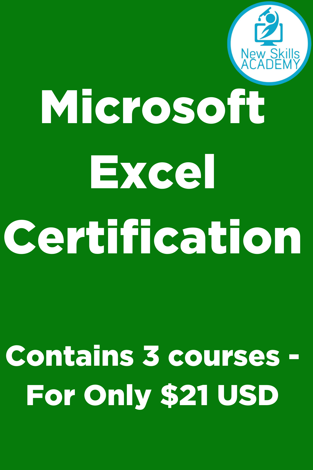 Microsoft Excel Certification Only 21 Microsoft Excel Excel Excel For Beginners