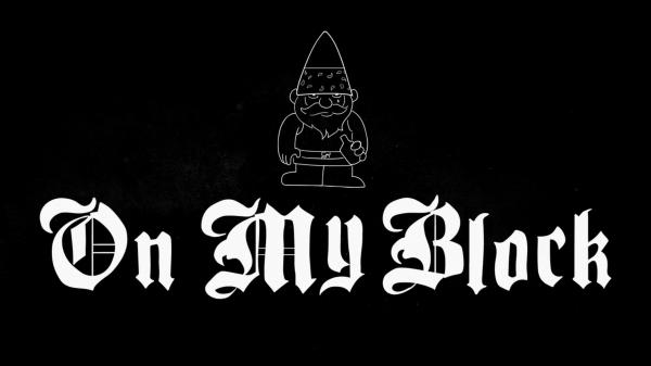 on my block typography Netflix, Fangirl