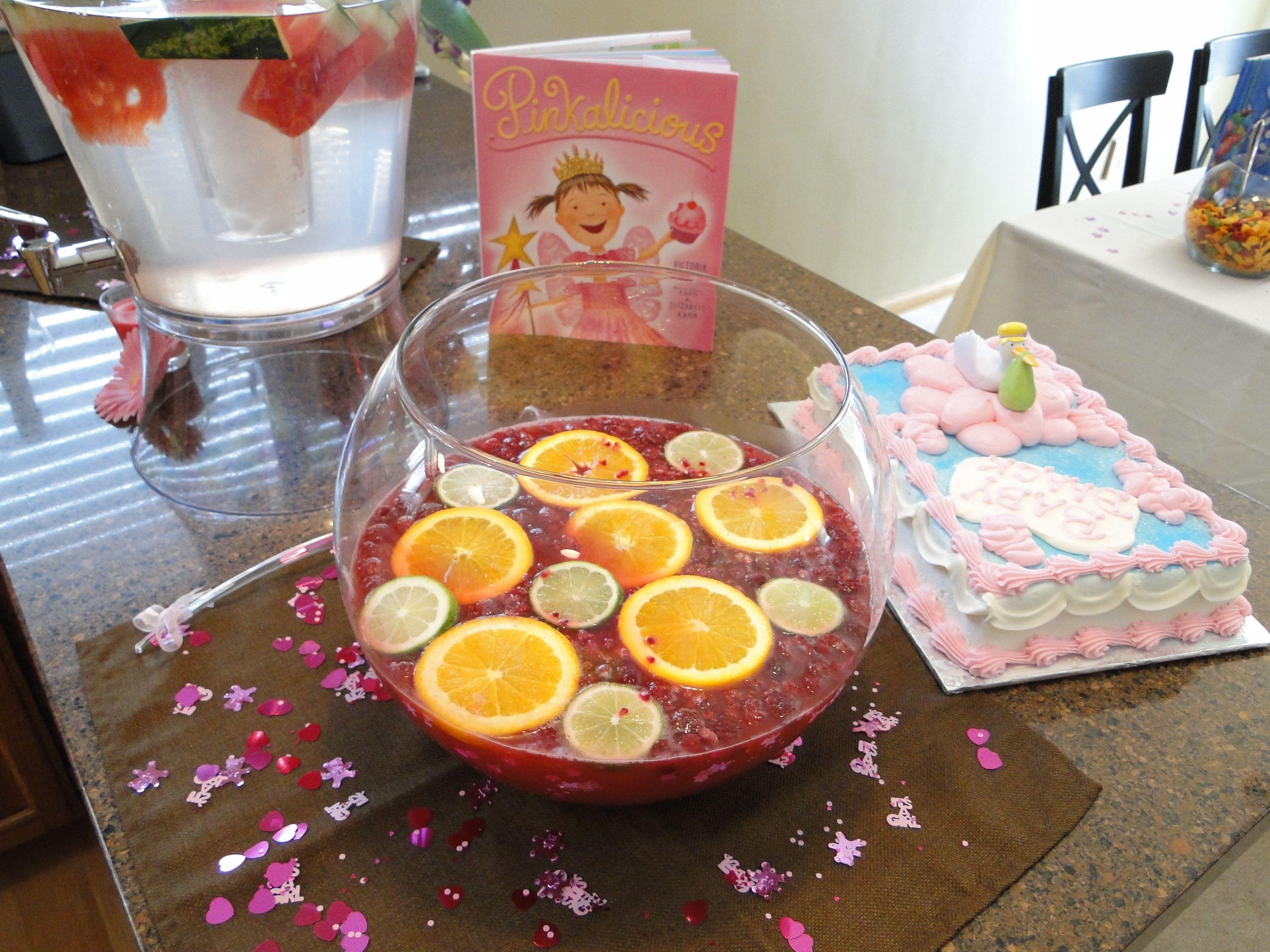Pink Lemonade Sherbet Punch Fdaebebdeff