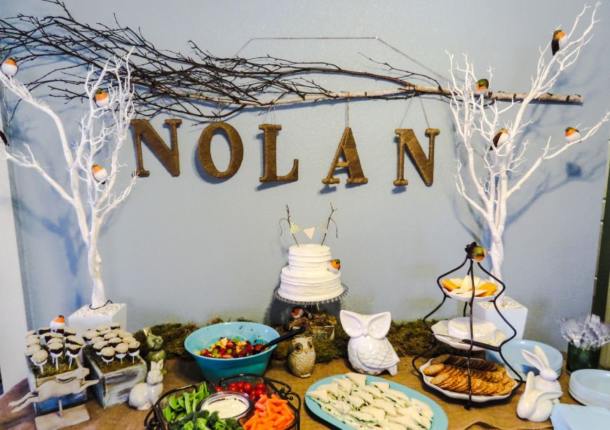 woodland themed baby shower darcy oliver design shower ideas