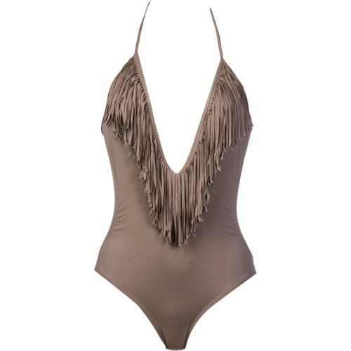 35a27d5a665 L *Space Fringe Benefits Stardust One Piece (X-Small, Taupe) #L*Space  #Apparel