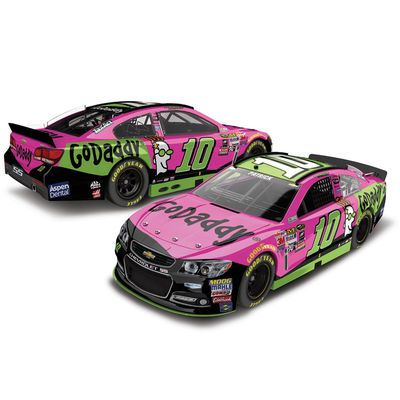 Action Racing Collectibles Danica Patrick 2015 #10 GoDaddy/Paint the Track Pink 1:24 Scale Platinum Die Cast Chevrolet SS - $69.95